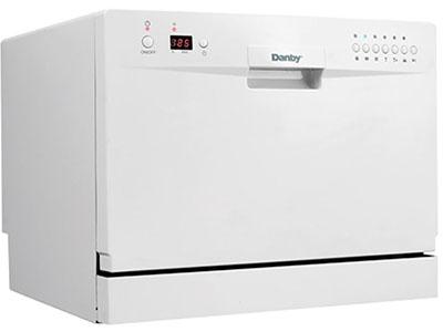 Danby DDW611WLED Countertop Dishwasher White